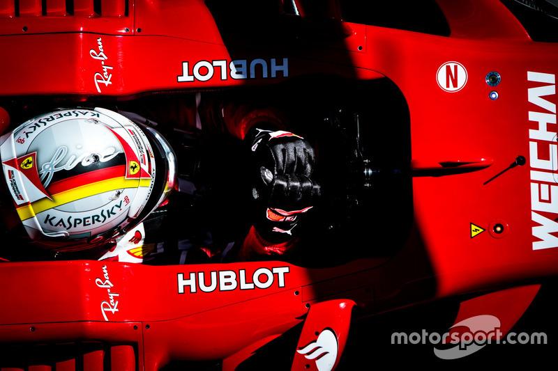Martes : Sebastian Vettel, Ferrari SF70H