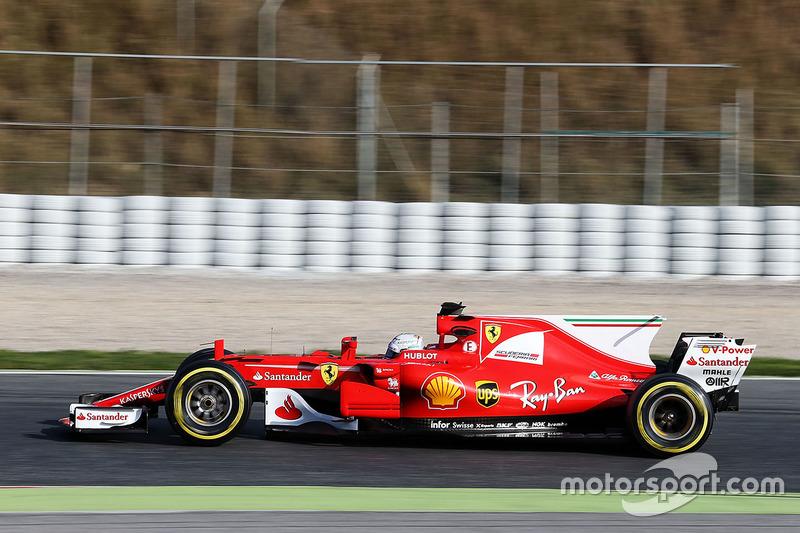 El Ferrari de 2017: 'Gina'
