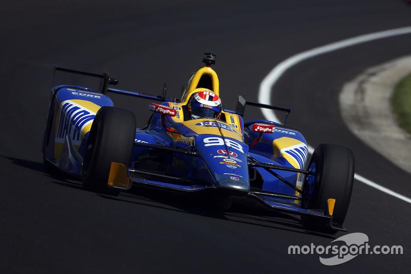 #98 Alexander Rossi, NAPA Auto Parts-Curb / Honda