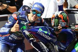 Le poleman Maverick Viñales, Yamaha Factory Racing