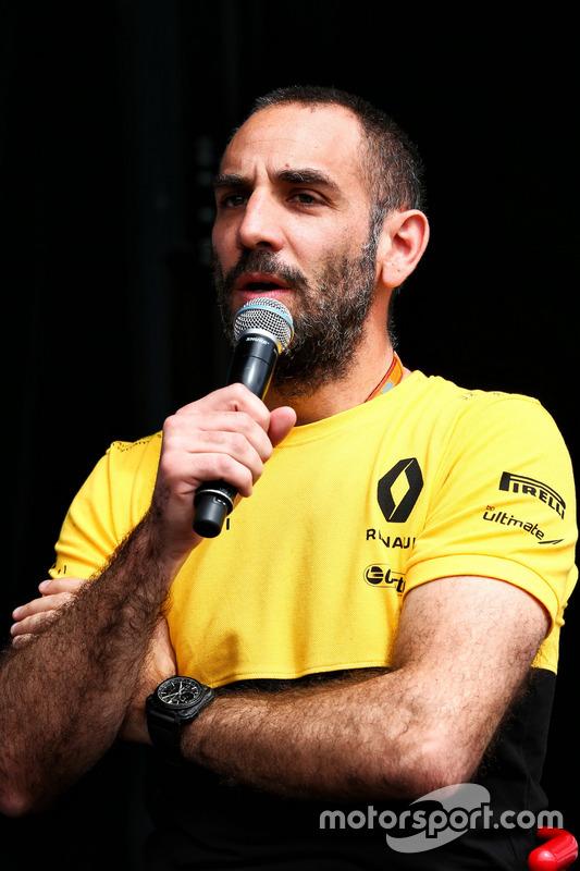 Cyril Abiteboul, director ejecutivo de Renault Sport F1