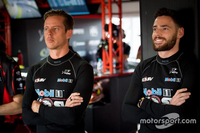 James Courtney, Holden Racing Team; Scott Pye, Holden Racing Team