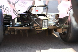 Force India VJM10 rear diffuser detail