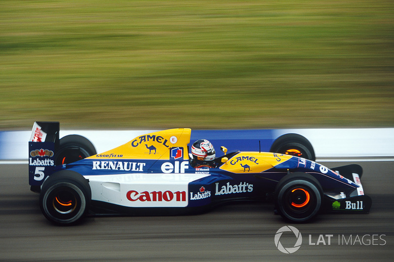 1992 - Nigel Mansell, Williams-Renault