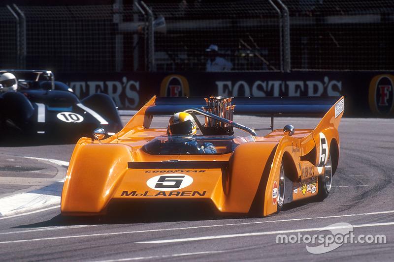 McLaren M8F Can-Am 1971 року у гонці підтримки