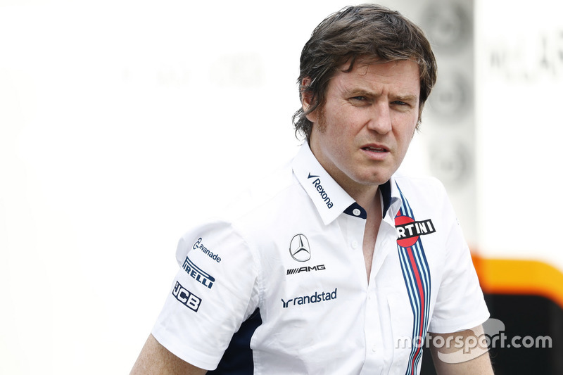 Rob Smedley, jefe de rendimiento de Williams