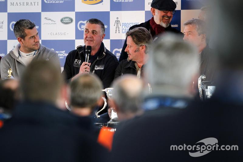 Martin Donnelly en la Conferencia de prensa