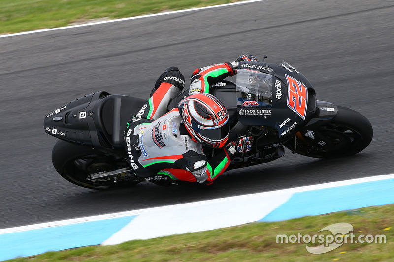 22º Sam Lowes (Aprilia Racing) 1:30.200, a 1.651s
