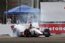 1. Sébastien Bourdais, Dale Coyne Racing. Honda
