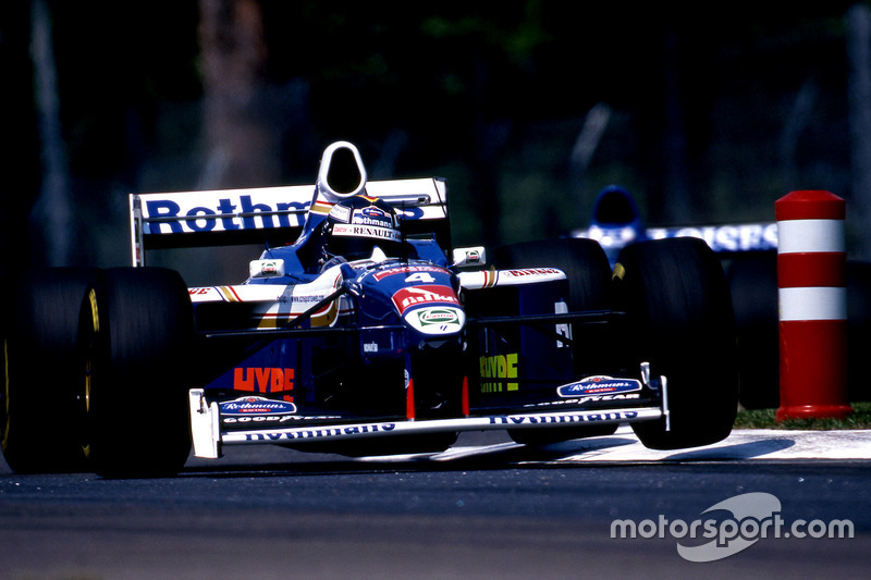 13. Williams FW19 Renault, Formula 1