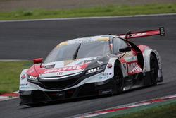 #16 Team Mugen Honda NSX-GT: Hideki Mutoh, Daisuke Nakajima, Jenson Button
