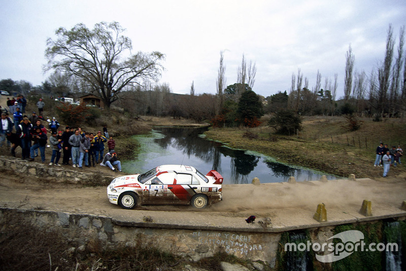 Томмі Мякінен і Сеппо Харьянне, Ralliart Mitsubishi Lancer Evo3