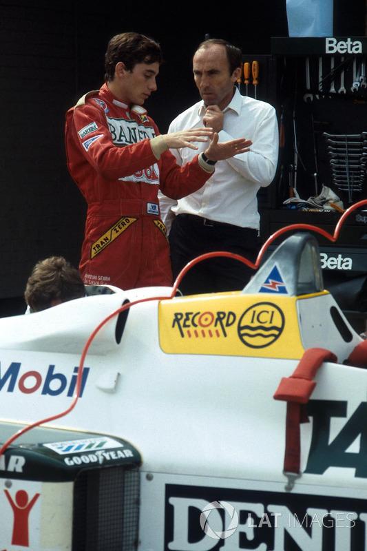 Айртон Сенна, Williams FW08C, Френк Вілльямс