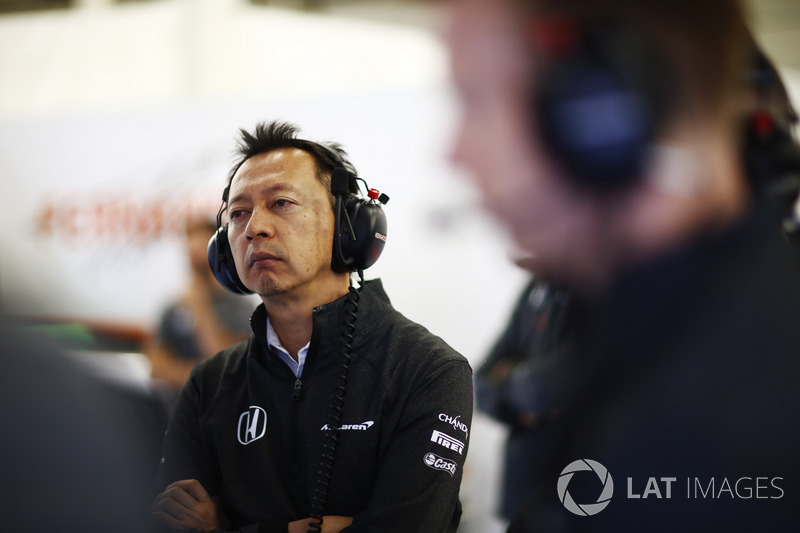 Голова Honda Motorsport Юсуке Хасегава