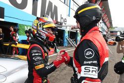Polesitters #17 Team WRT, Audi R8 LMS: Robin Frijns