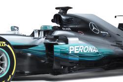 Mercedes AMG F1 W08 detalle