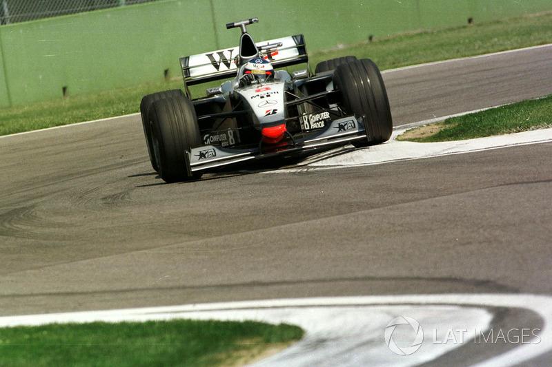 Mika Hakkinen, McLaren MP4/13