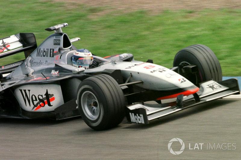 Mika Häkkinen, McLaren MP4/13