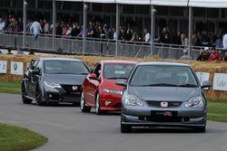 Historische Hondas