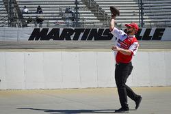 Wood Brother Racing crew member plays american football