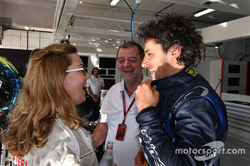 Paul Stoddart, Patrick Friesacher, F1 Experiences 2-Seater driver