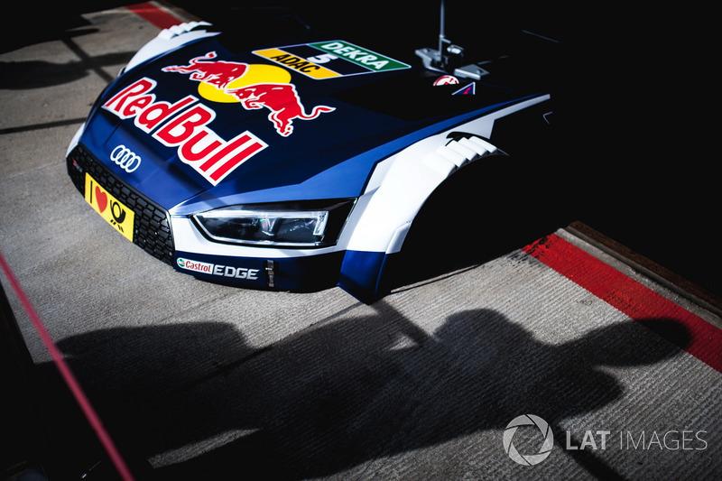 Motorhaube des Autos von Mattias Ekström, Audi Sport Team Abt Sportsline, Audi A5 DTM