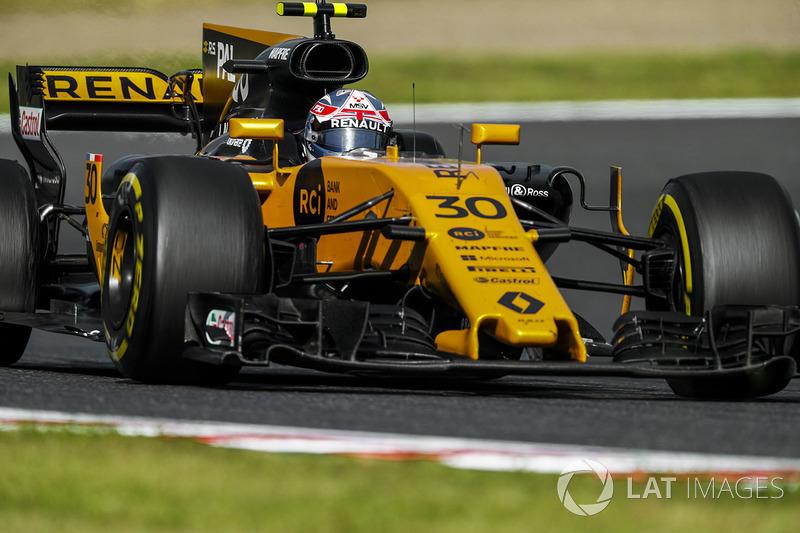 Jolyon Palmer, Renault: 45