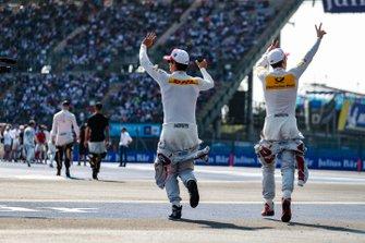 Daniel Abt, Audi Sport ABT Schaeffler, Audi e-tron FE05 and Lucas Di Grassi, Audi Sport ABT Schaeffler, Audi e-tron FE05