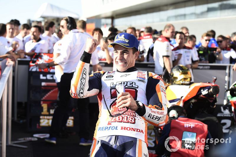 Чемпіон світу MotoGP 2018 року Марк Маркес, Repsol Honda Team