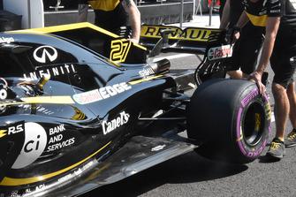Renault Sport F1 Team R.S. 18 rear detail