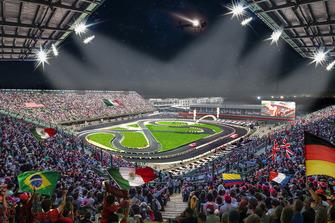 Le circuit de la ROC Mexico