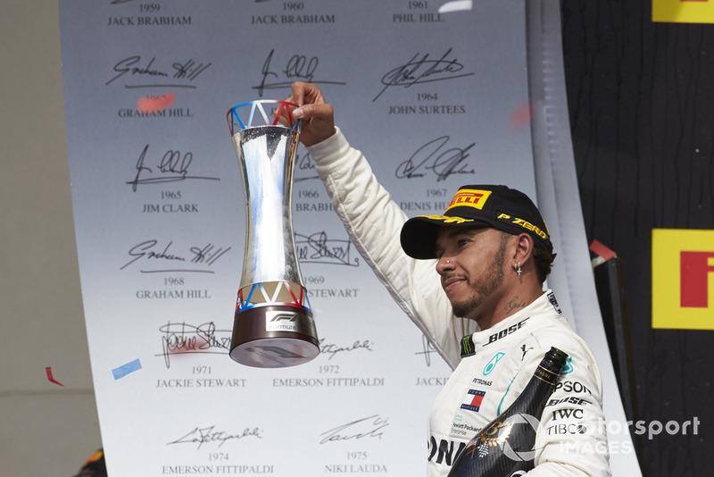 1. Льюис Хэмилтон, Mercedes AMG F1 – 218 очков (позиция не изменилась)