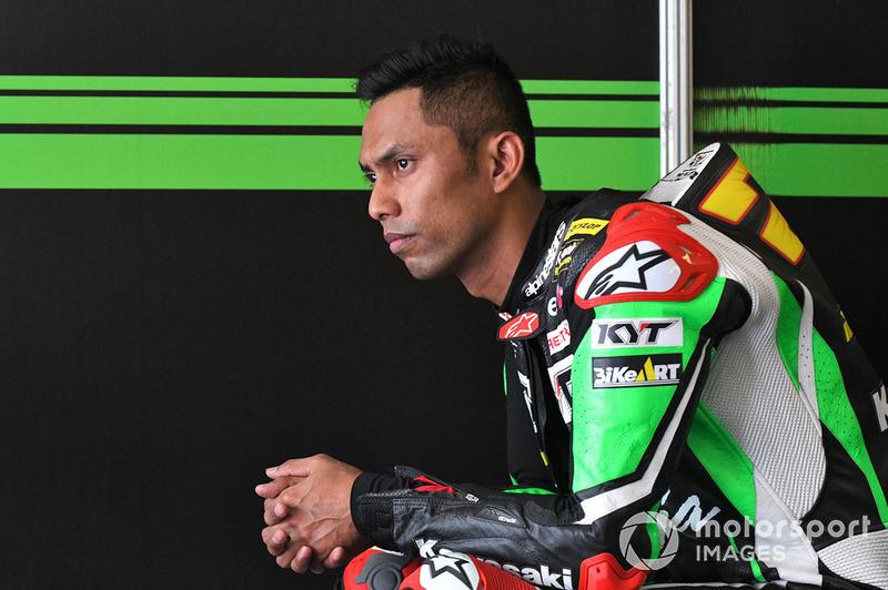 Azlan Shah Kamaruzaman, Manual Tech KYT Kawasaki Racing