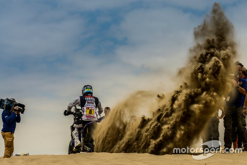 #8 Yamalube Yamaha Official Rally Team: Франко Каймі