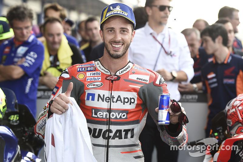 Andrea Dovizioso, Ducati Team, terzo qualificato