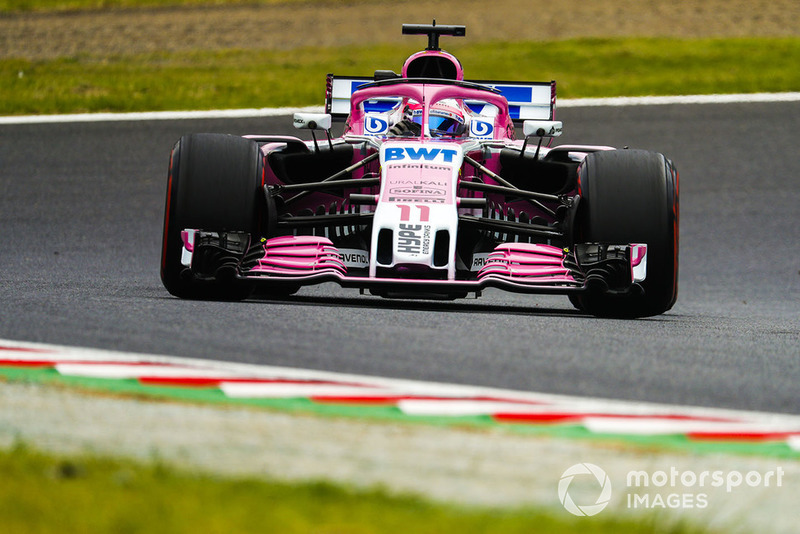 11. Sergio Perez, Racing Point Force India VJM11