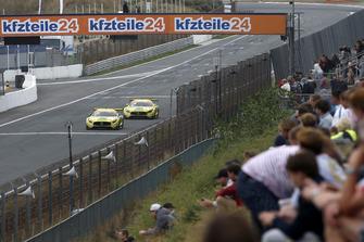 #48 HTP Motorsport Mercedes-AMG GT3: Indy Dontje, Maximilian Buhk, #47 HTP Motorsport Mercedes-AMG GT3: Maximilian Götz, Markus Pommer