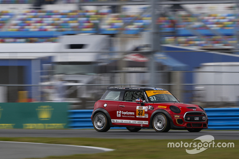 #37 MINI JCW Team MINI Cooper John Cooper Works: Mike LaMarra, James Vance