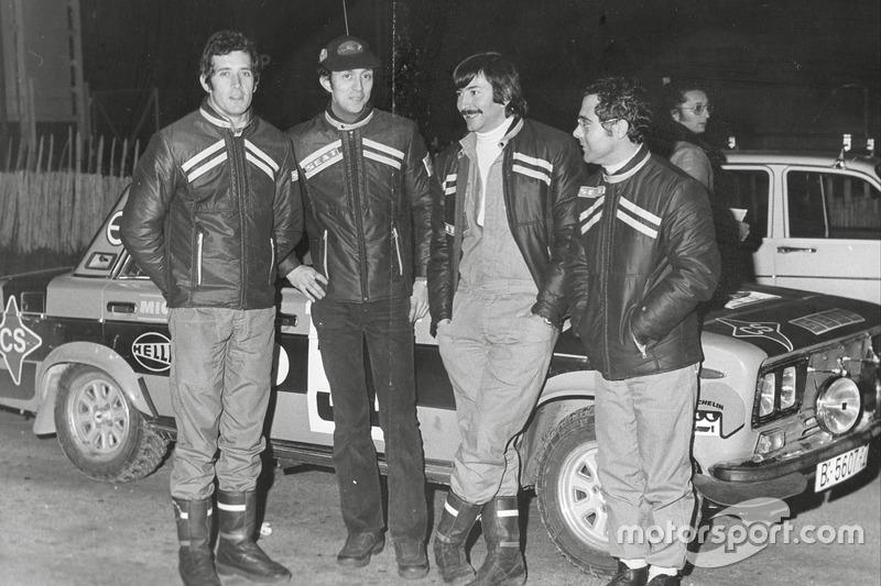 Antonio Zanini, Juan José Petisco, Daniel Ferrater y Salvador Cañellas