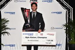 Indy Lights champion Kyle Kaiser