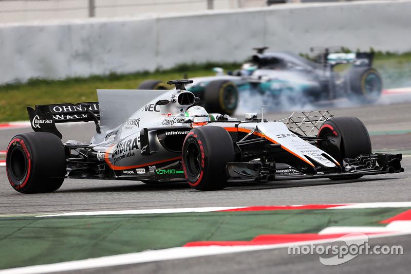 Пилот по развитию Sahara Force India F1 Альфонсо Селис-мл.