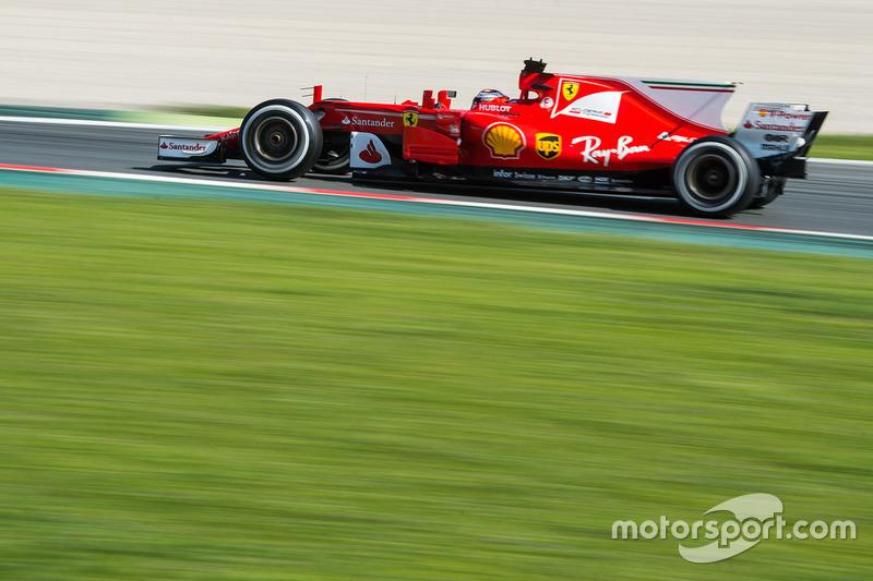 3 місце - Кімі Райкконен, Ferrari