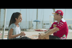 Beach volley ball with Sebastian Vettel