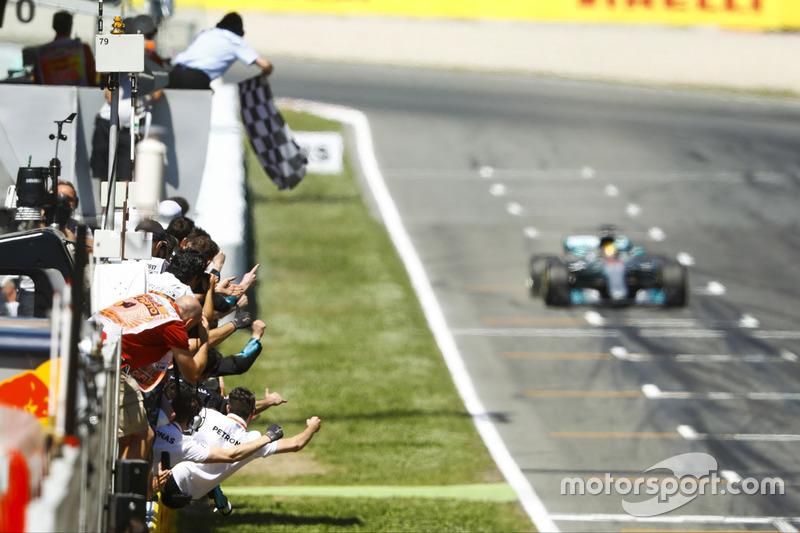 El GP de España, la carrera con más pilotos doblados