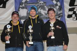Philipp Krebs, Denis Wolf, Meverick Gerber, podium