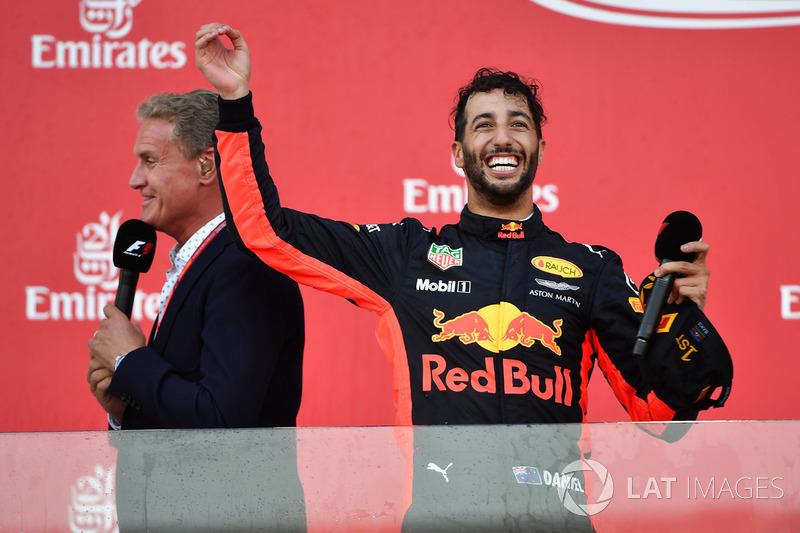David Coulthard, Channel Four TV, Daniel Ricciardo, Red Bull Racing