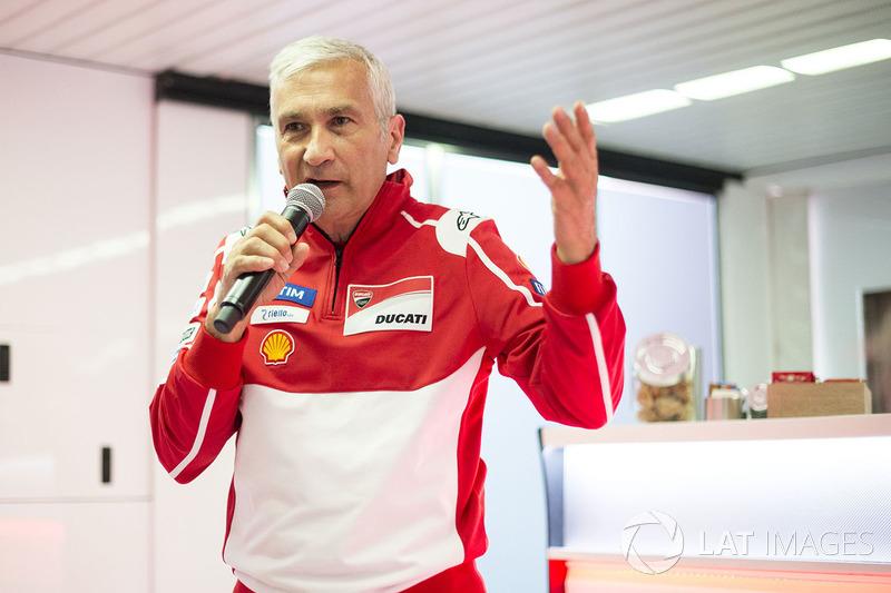 Davide Tardozzi, director del Ducati Team