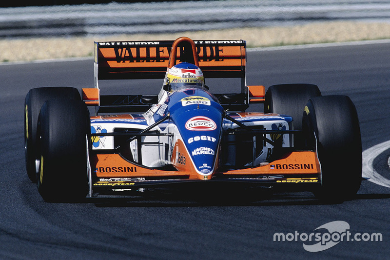 Мікеле Альборето, Minardi 194 Ford