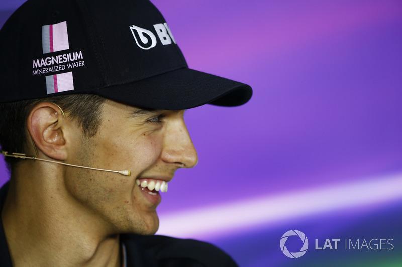 Esteban Ocon, Force India