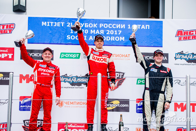 Призеры I этапа Кубка России Mitjet